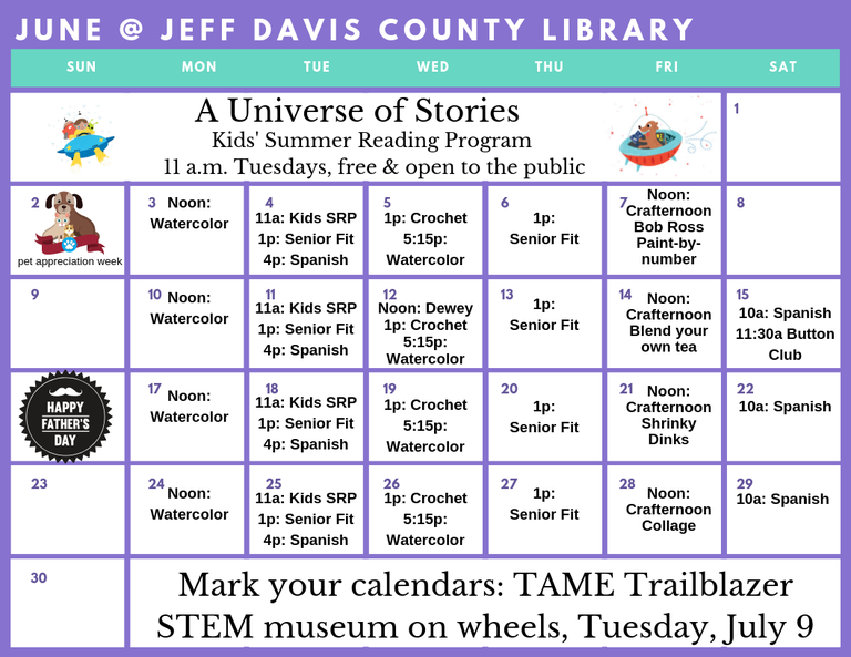 Bringing The World To You Jeff Davis County Library